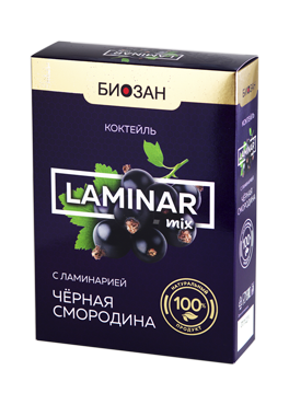Питательный коктейль «LAMINAR mix» (черника, черная смородина)